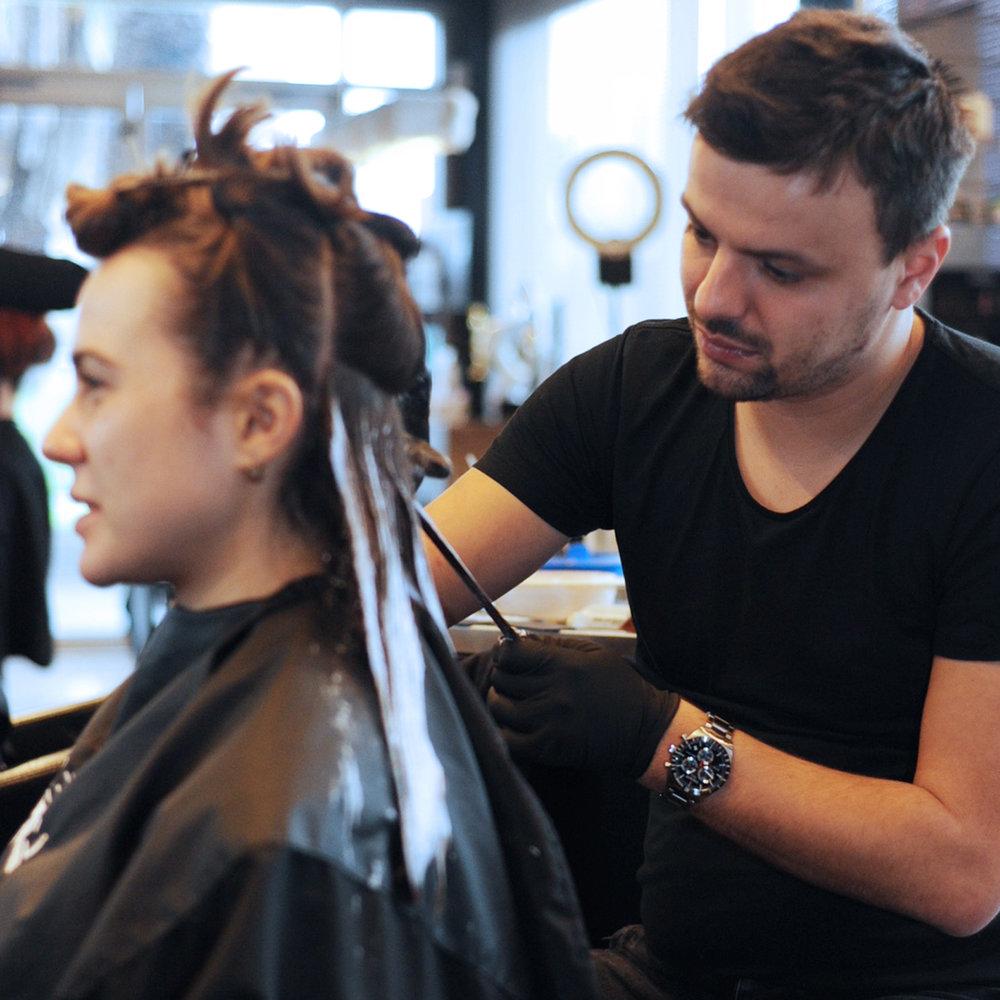french freehand balayage_hair color_hair colourist_st kilda_elwood_melbourne_hairdresser_yoshiko_yoshik hair