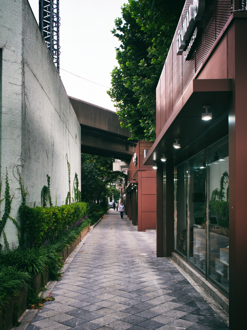 The shoe street.