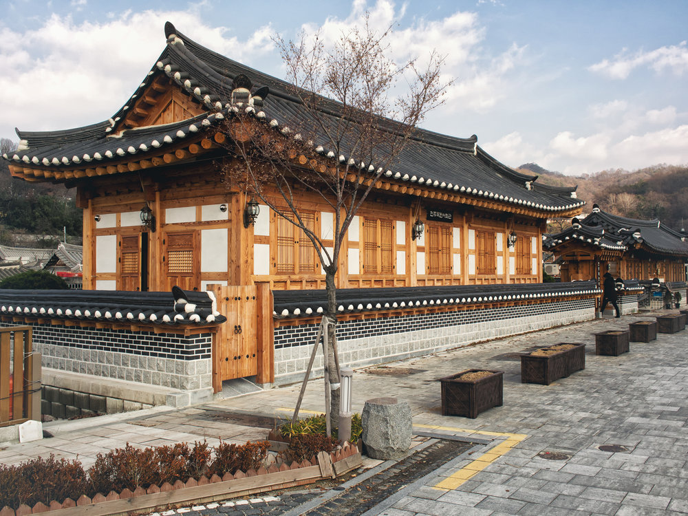 Exterior of the Woodblock Printing Experience Museum.