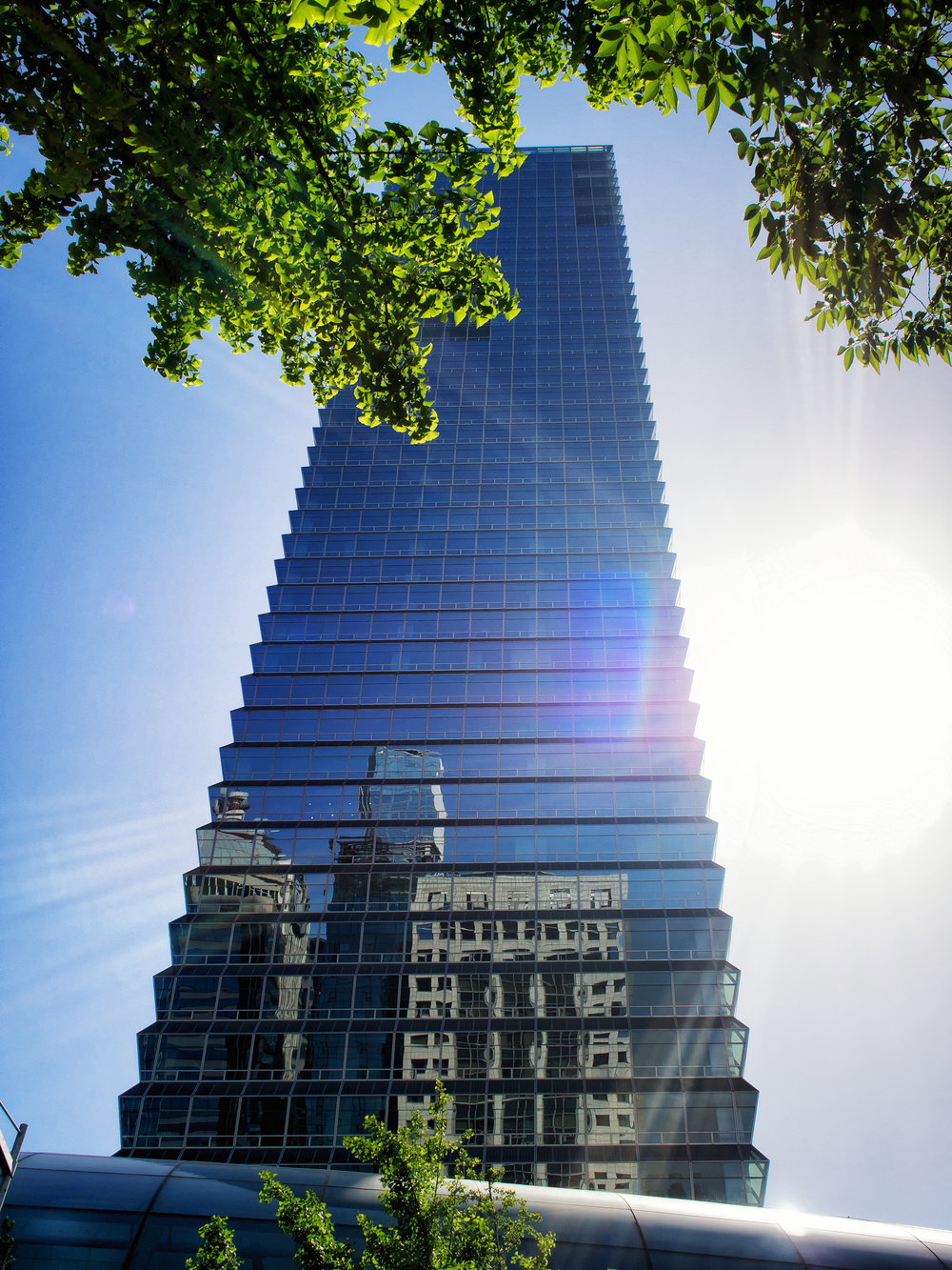 The FKI tower in Yeouido where The Skyfarm is located.
