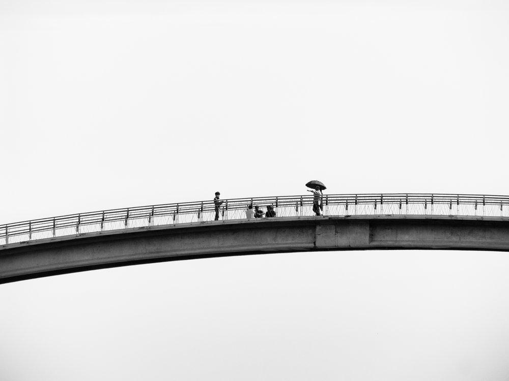 4. Bridge to nowhere.