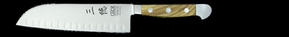 Santoku 18cm Chef's Knife(Scalloped)