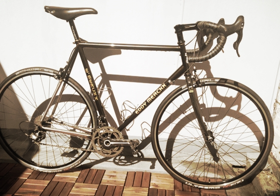 "Lloyd's  custom Lightspeed AX Eddy Merckx or  ""Eddy"" - a titanium masterpiece"