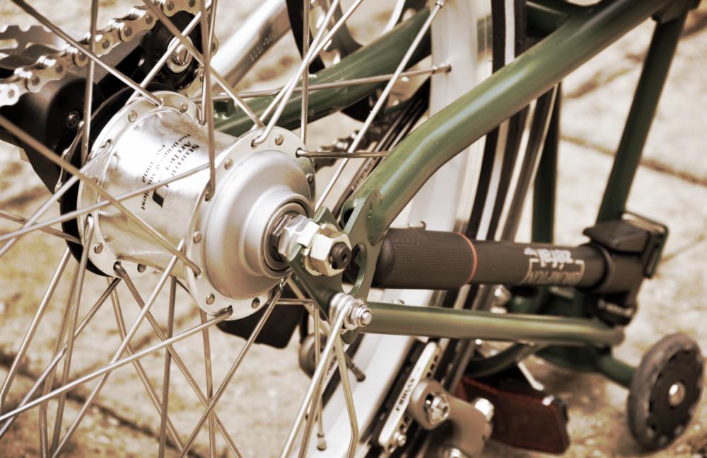 brompton rear wheel