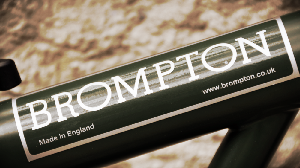 brompton bike frame