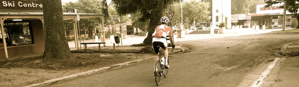 Audax ride rider