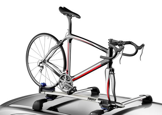 New Thule Sprint 528 Fork Mount Bike Rack La Velocita
