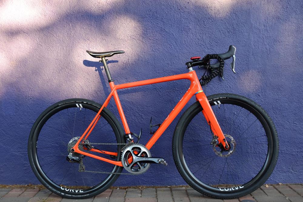 The Open U P One Bike Build To Rule Them All La Velocita
