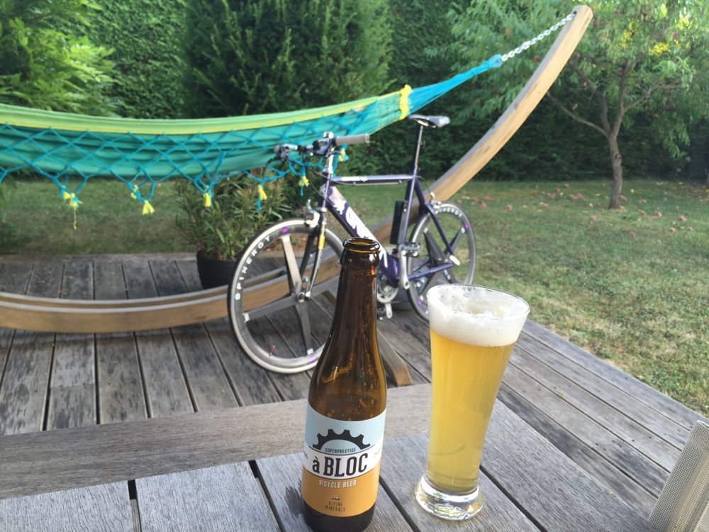 Beer and bikes were made for each other