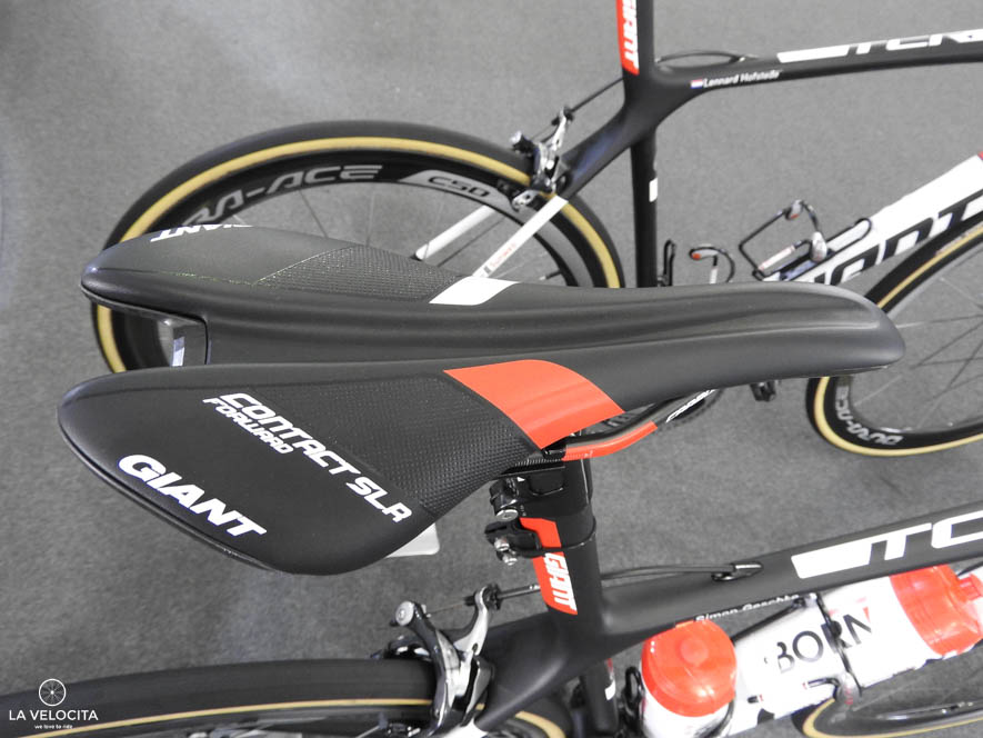 The finishing kit is all Giant, even the Contact SLR Forward Saddle