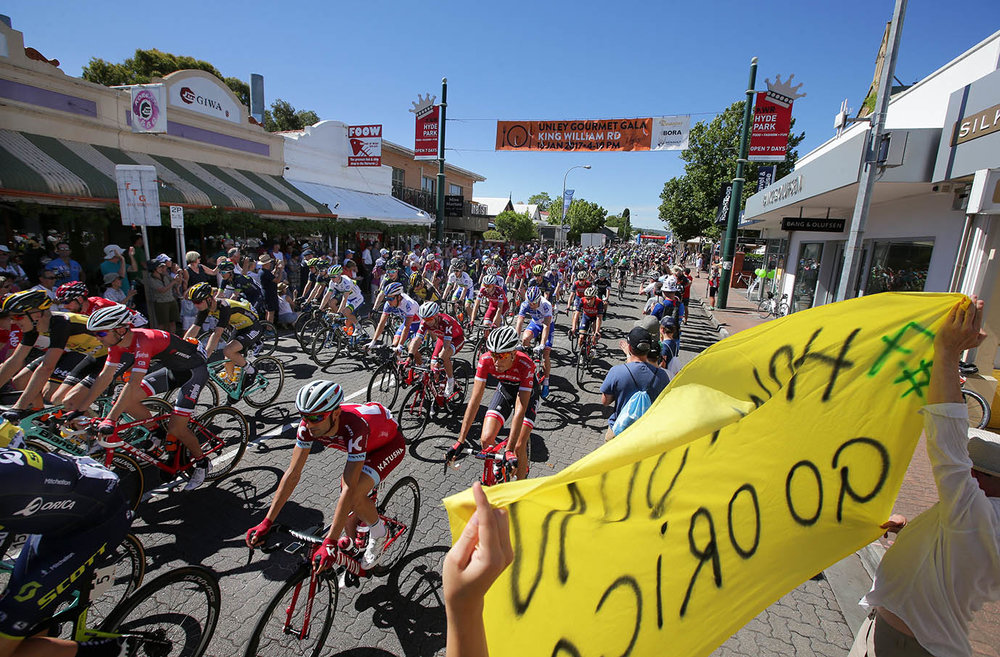 The stage1 race start at Unley