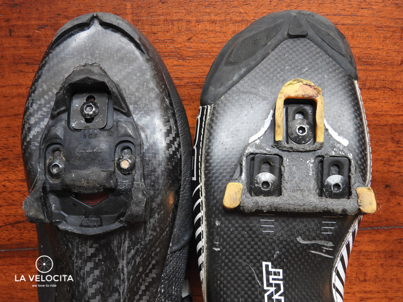 There's some similarities between the TIME and Shimano cleats