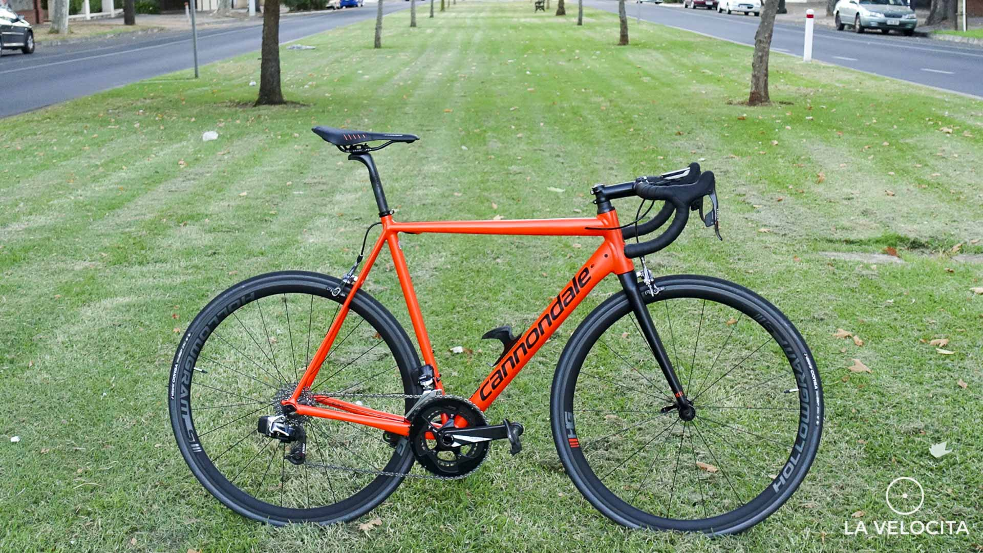 Cannondale CAAD12 Red eTap review - LA VELOCITA
