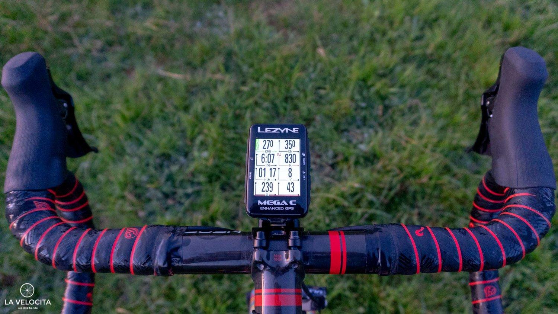 Lezyne Mega C GPS review - LA VELOCITA