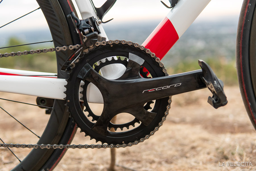 It's a damn good looking crankset
