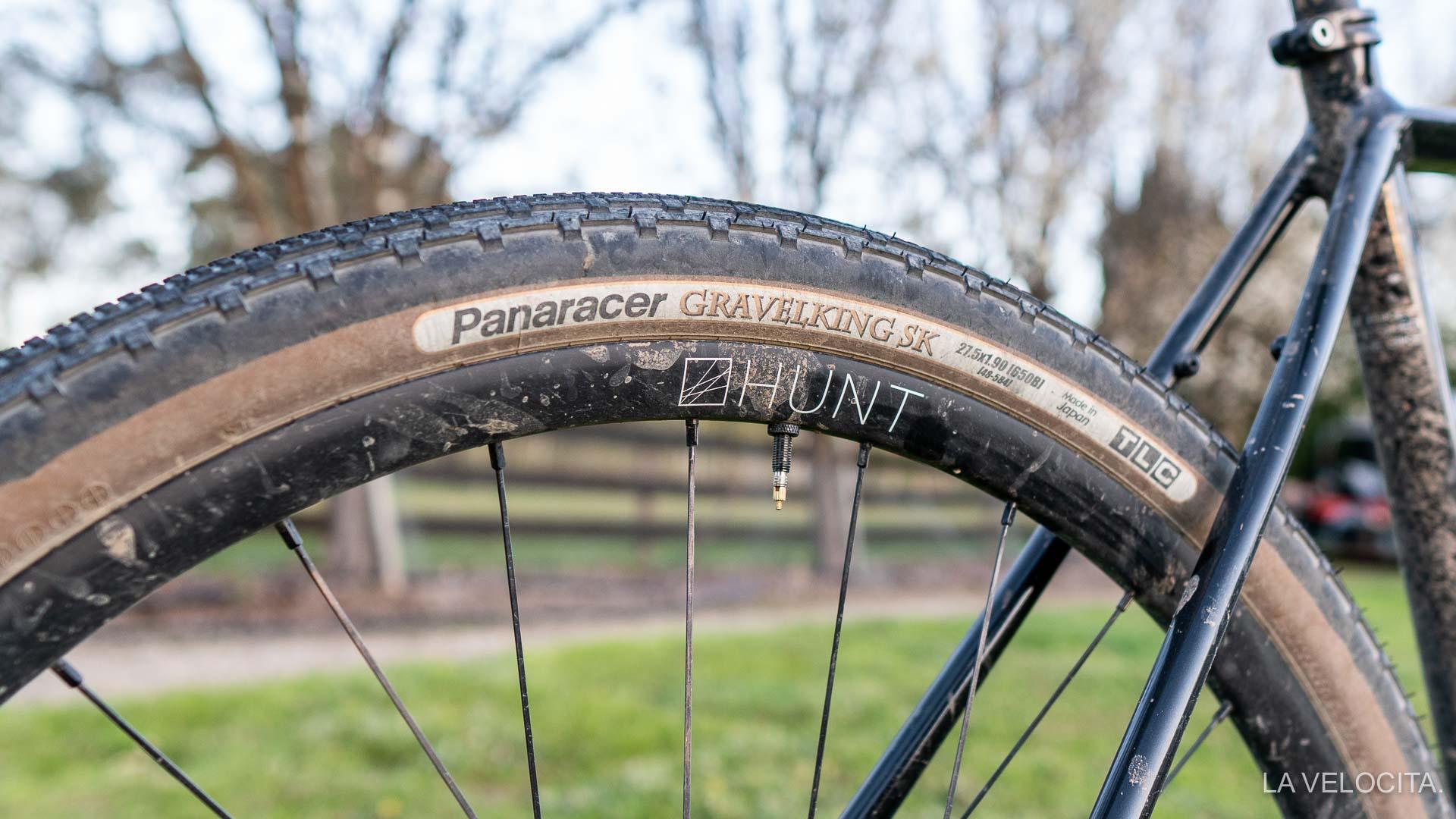 Panaracer GravelKing SK Tire 700x35mm Brown Sidewall