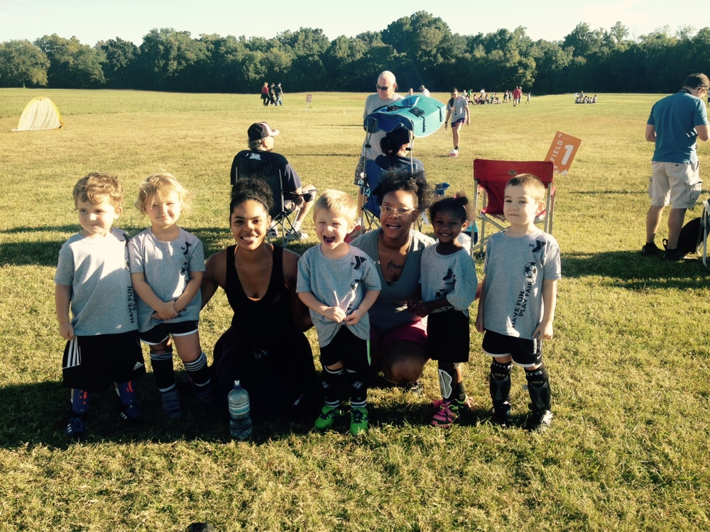 """""""I teach soccer to three-year-olds, but three-year-olds teach me about life."""""""
