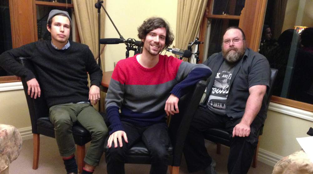 From Left to Right : Tom Swinburne, Chris Pahlow and Clayton Jacobson