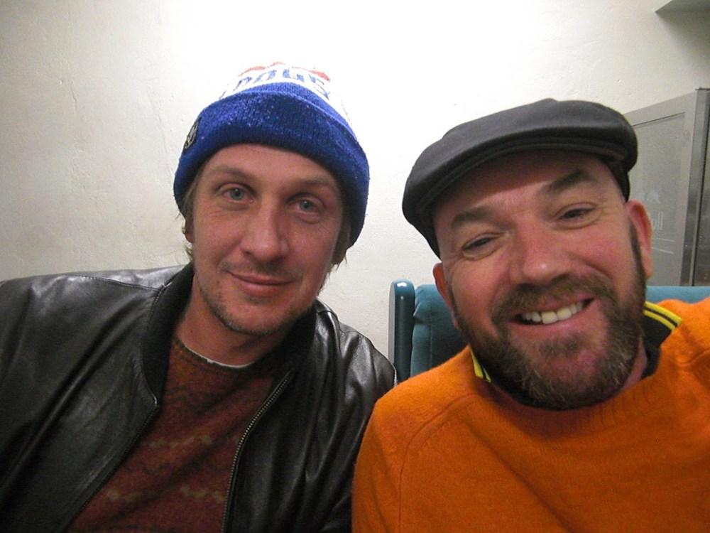 Damian Hill & paul ireland