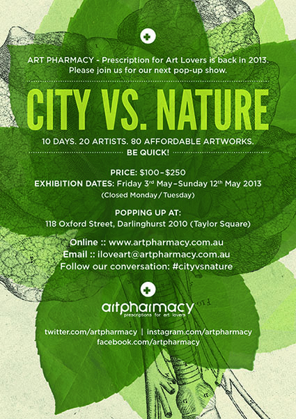 City Vs Nature Art Pharmacy Pop Up Show