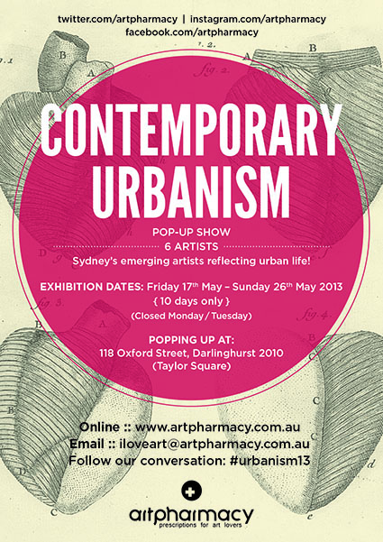Contemporary Urbanism Art Pharmacy Pop Up Show