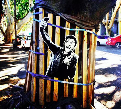 'The Selfie Portrait' - image: notnotcamscott.com.au