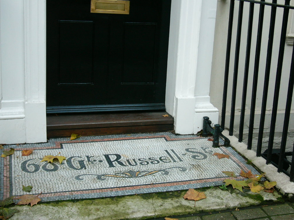 My address back in London