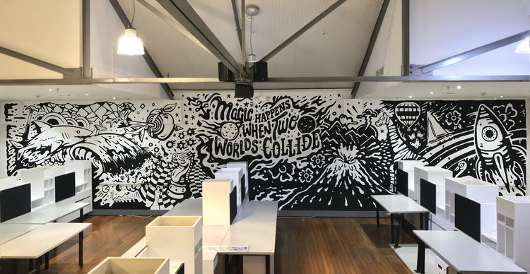 Mural commissioned for Step Change's office in Sydney