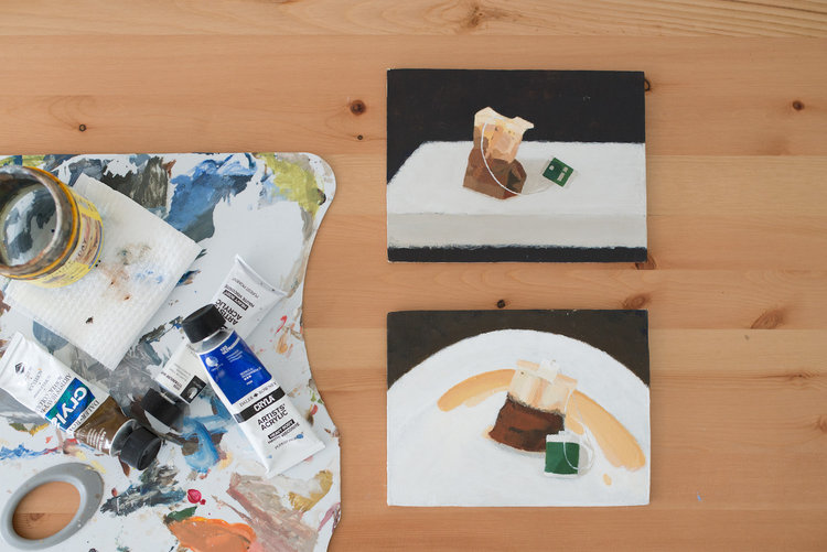 Shellie Cleaver - 'Still Life With Teabag'