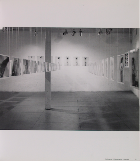 Julie Rrap, Disclosures: A Photographic Construct, Central Street Gallery, Sydney, 1982