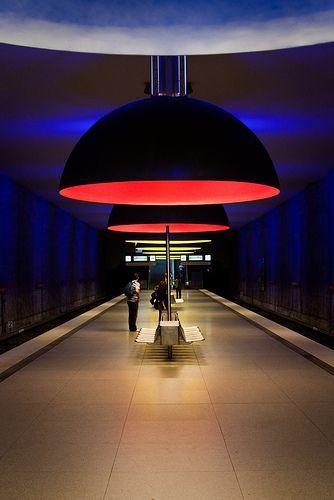 Westfriedhof Metro Station, Munich