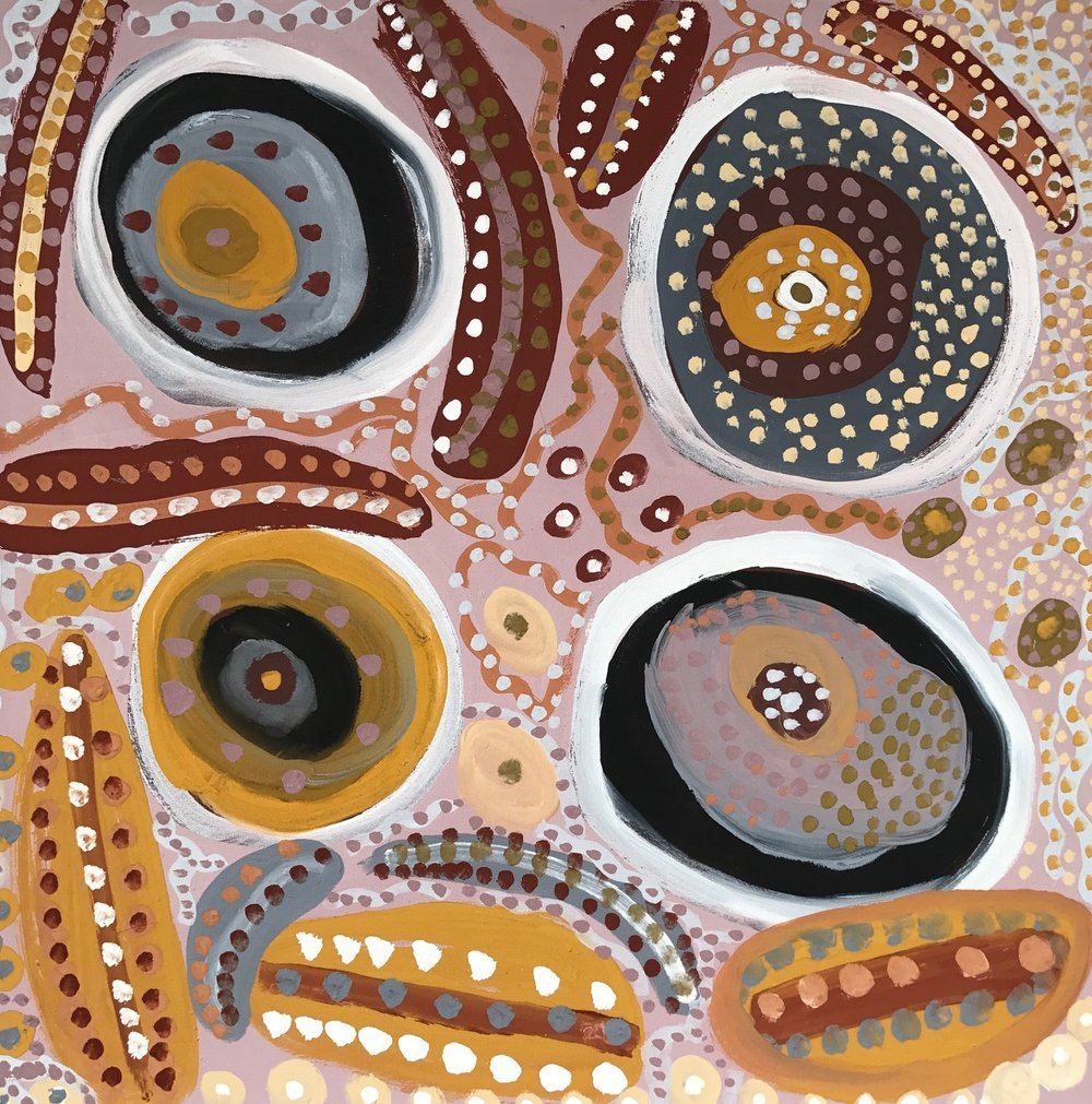 Art Pharamacy_Vandal Gallery_Aboriginal Contemporary_Desert Stars_Mary Tailor one.jpg