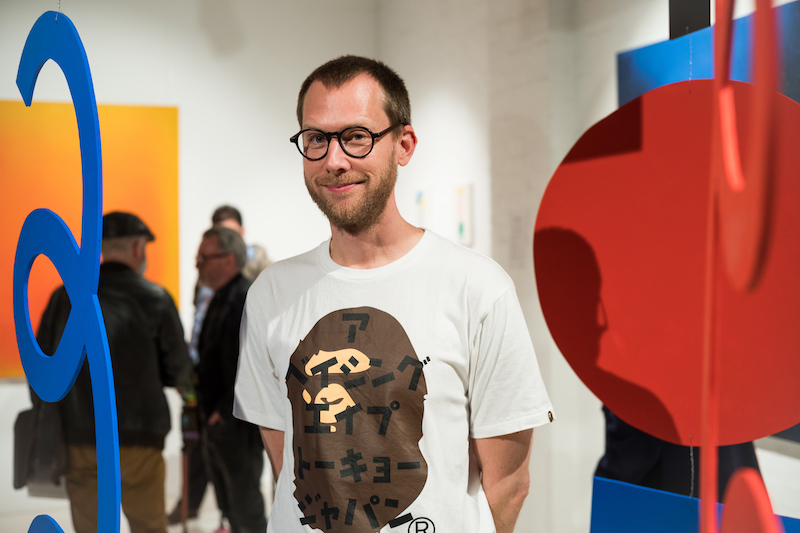 Breathing Colours Exhibition Opening_Artist Micke Lindebergh with his installation works_Credit_Art Pharmacy_Vandal __1538 copy.jpg