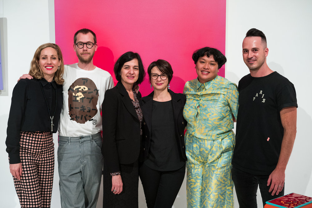 Breathing Colours Exhibition Opening_L-R_Emilya Colliver_Micke Lindebergh_Nuha Saad_Elefteria Vlavianos_Rosell Flatley_Emile Rademeyer_Credit_Art Pharmacy_Vandal __1786.jpg