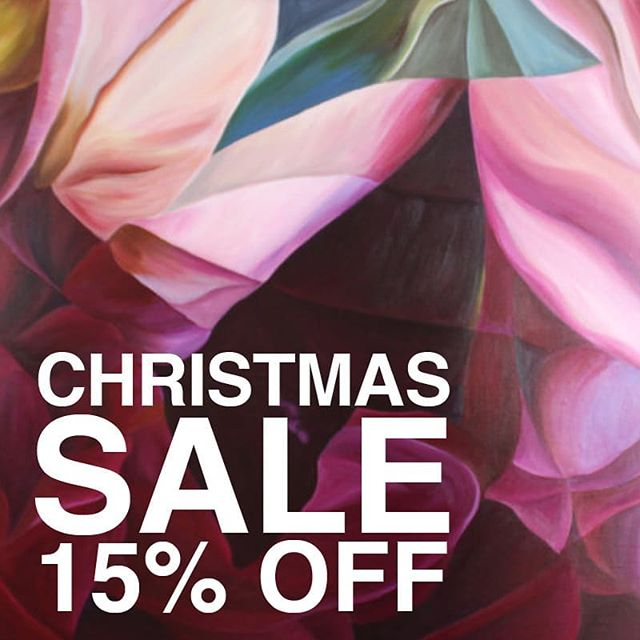 Did you hear? The Art Pharmacy Christmas Sale has begun!  Shop a range of artworks for 15% off when you apply the code APXMAS18  Beautiful artwork on sale by @freyapowellstudio