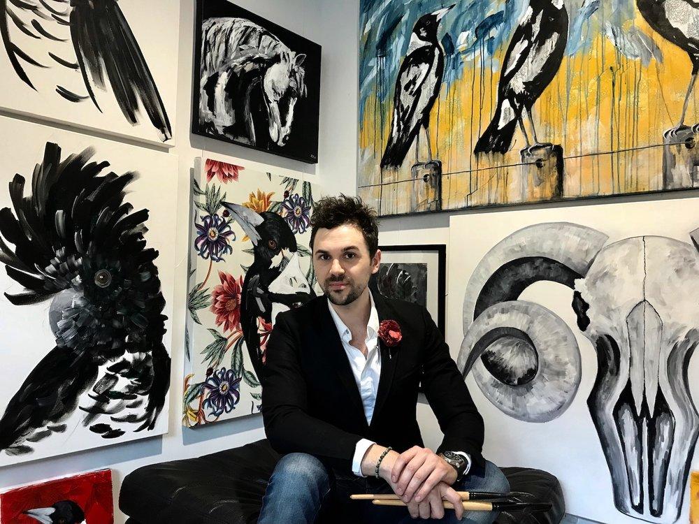 robert kerswell - rek artist - art pharmacy