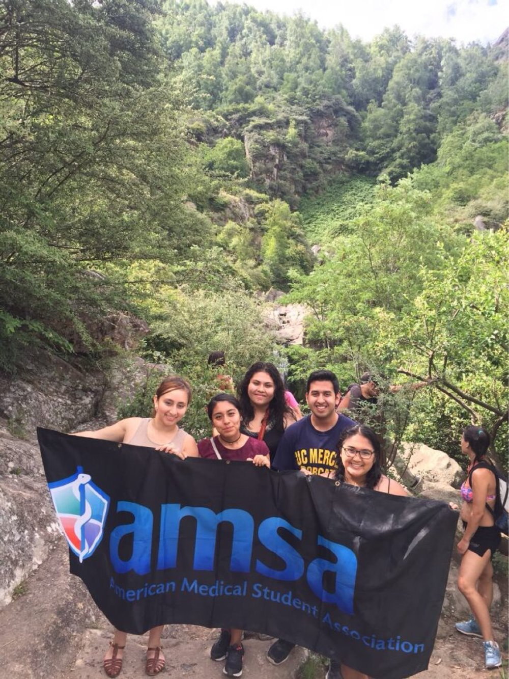 AMSA Members at their CHFI trip to Argentina