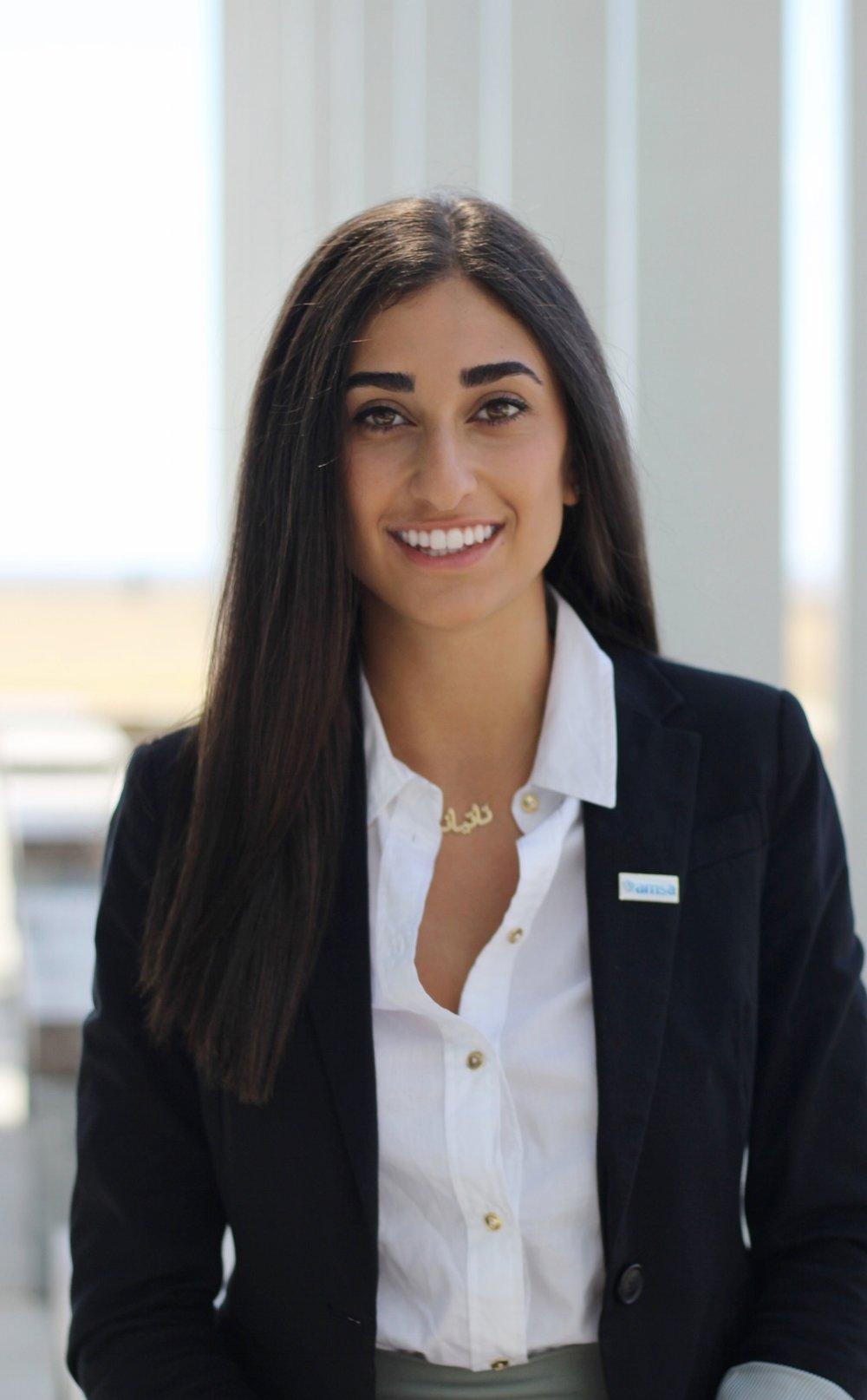 Tatiana Abdulnour: Vice President of Finance