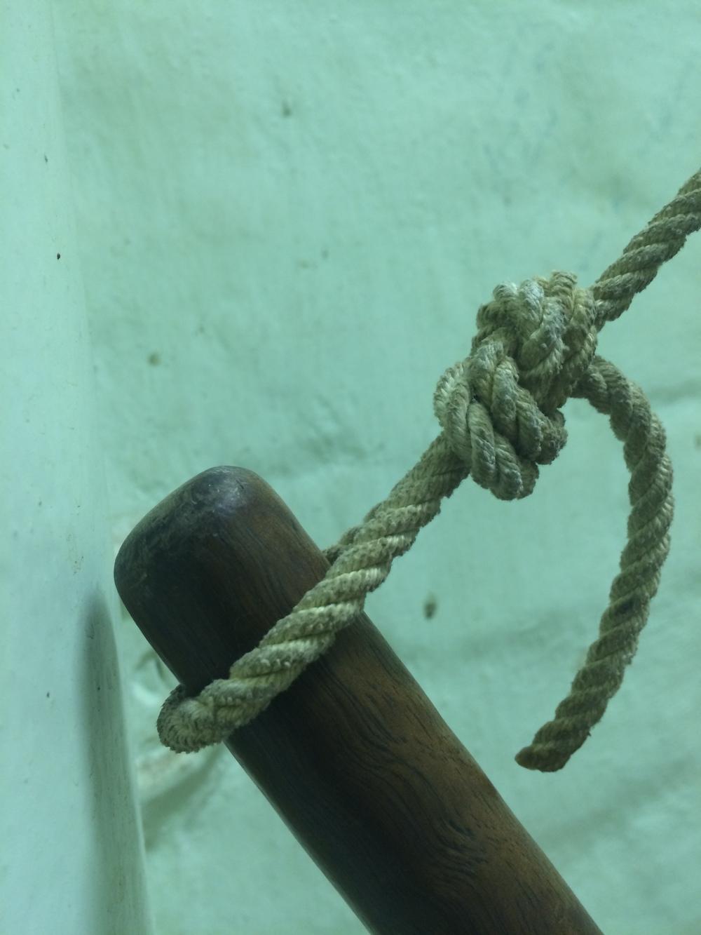 Hung  (detail)