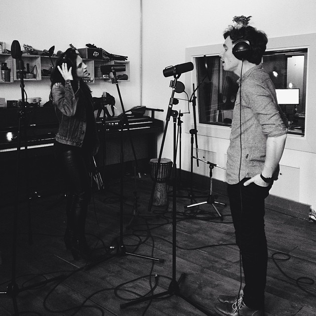 Recording Night Drives EP , Urchin Studios, London, May 2014