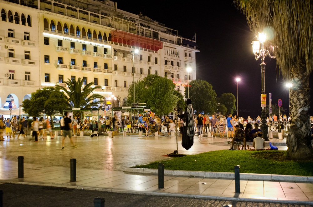 Salonic noaptea