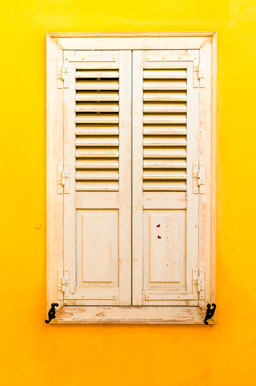 Galbenul este culoarea dominanta si este folosit in diferite nuante pentru a evidentia subiectul
