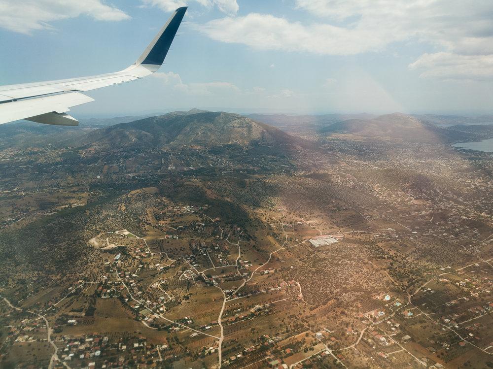Kos vazut din avion