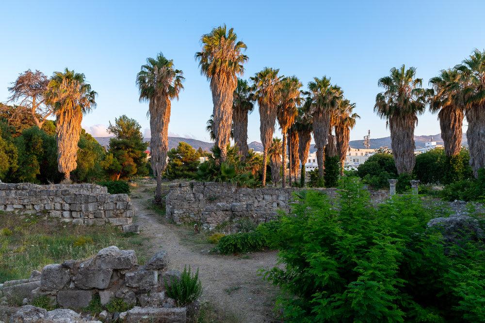 Ruine in Kos