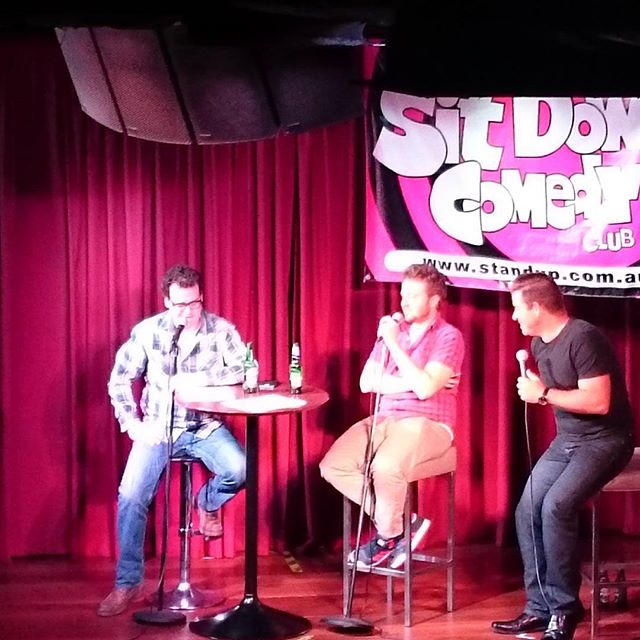 The Dollop live in Brisbane! #emuwars