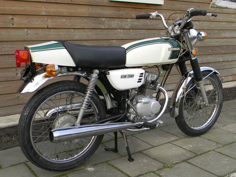 Honda cb50jx for B and e honda