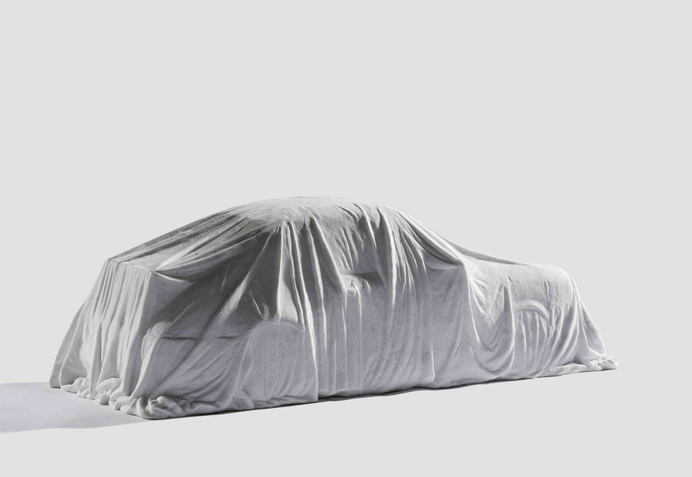 Any Dessert You Want_Porsche , 2008, white marble, 25x30x72cm.