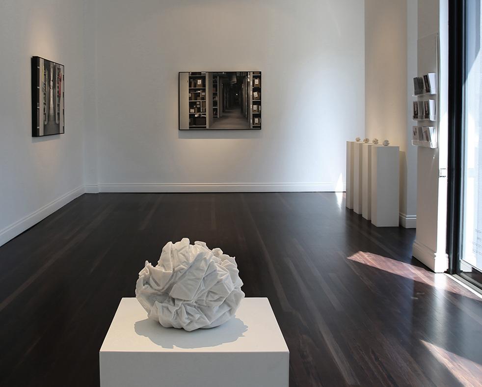 Draft (A1) 2013, Bianco Marble,17 x 18 x 18 cm