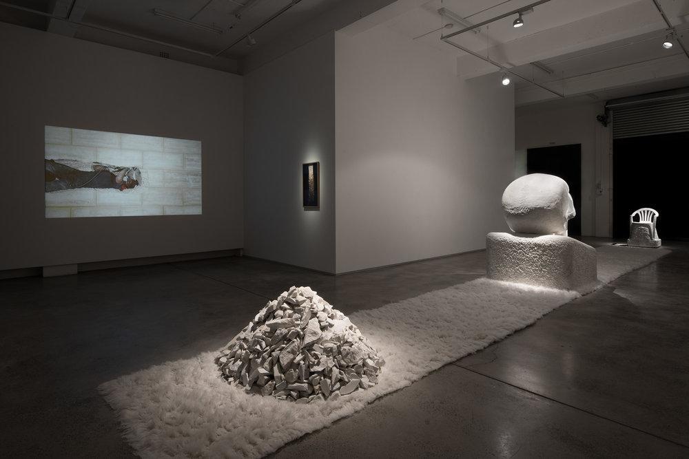 Monument 2017 installation view, Sullivan + Strumpf, Sydney
