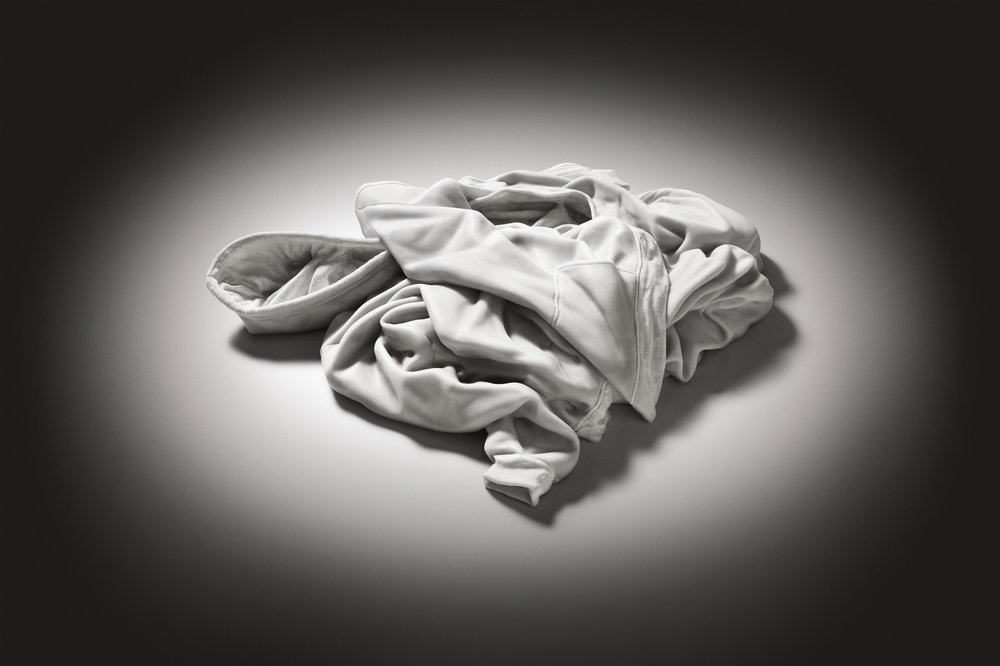 Refrain  2012, Bianco Carrara marble, 15 x 80 x 70 cm